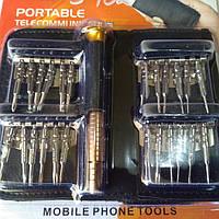 Набор отвёрток для мобильных телефонов XW-6025 №3-102