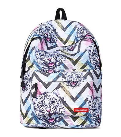 Рюкзак школьный с тигром Running Tiger