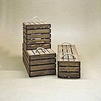 Короб для хранения Неаполь капучино В30хД20хШ25см