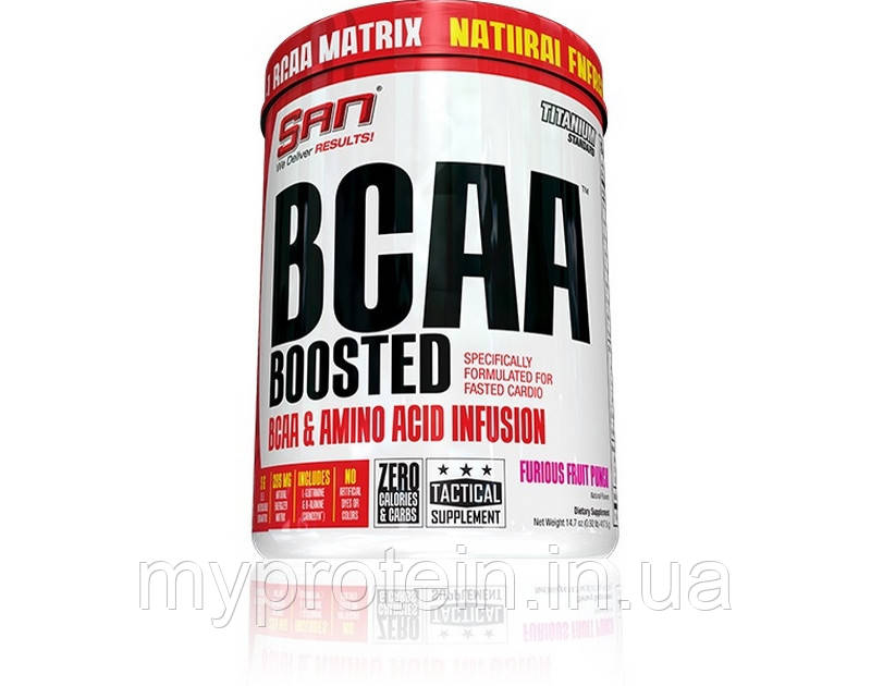 SAN бца сан BCAA Boosted (104 g )