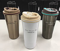 Термос из нержавеющтей стали COFFE CO 500ML BN-038 (50 шт/ящ)