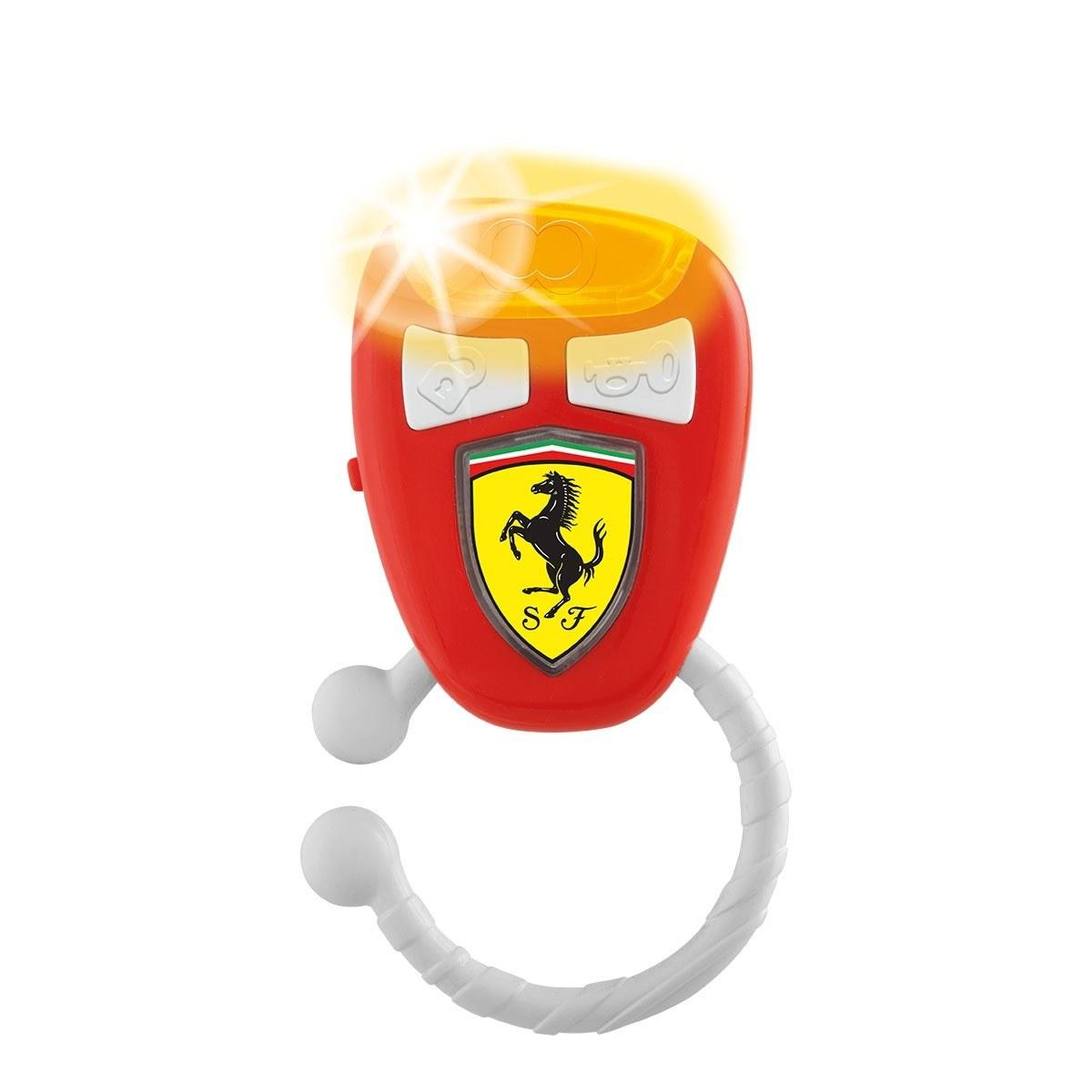 "Игрушка музыкальная Chicco ""Ключи Ferrari"", 3 мес+"