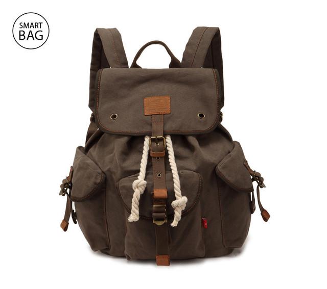 Городской брезентовый рюкзак Augur | хаки