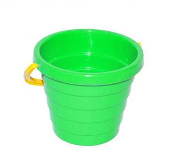 Ведерко для песка ТехноК (зеленое)