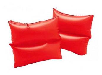 Нарукавники для плавания красные