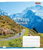 А5/18 лин. 1В Mountain traveler, тетрадь ученич.