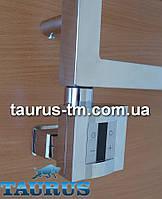 Квадратный ТЭН KTX4 MS chrome c маскировкой: экран + регулятор 30-60С + таймер 1-4 ч. (под пульт ДУ). Польша