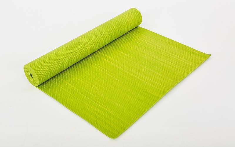 Коврик для фитнеса и йоги PVC 4мм SP-Planeta. Распродажа. Оптом и в розницу