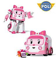 Машинка-трансформер Эмбер Robocar Poli/Робокар Поли: 10 см