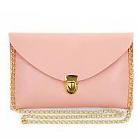 Клатч конверт сумочка Vega light pink