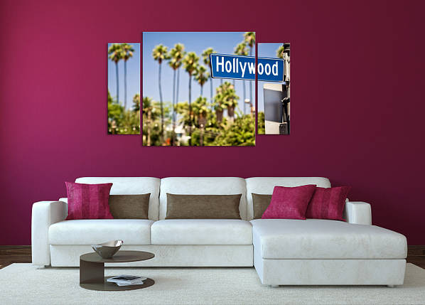 Модульная картина Америка, Голливуд, фото 2