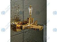 Смеситель для ванны VENEZIA Diamond Gold Золото, фото 1