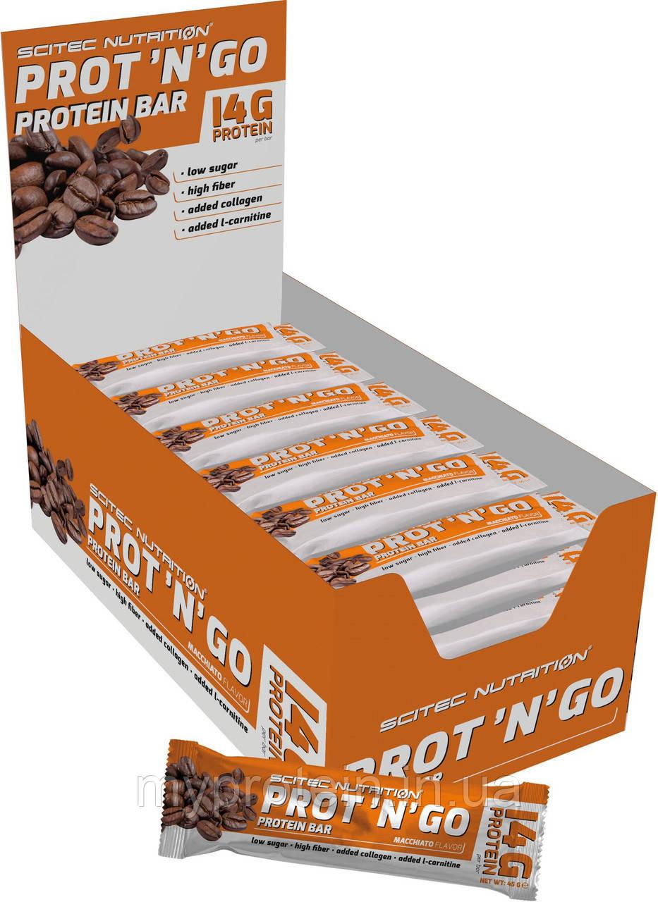 Scitec Nutrition Батончики Prot`N`Go 45 g