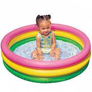 "Надувной детский бассейн ""Сияние Заката"" Intex Sunset Glow Baby Pool 58924"