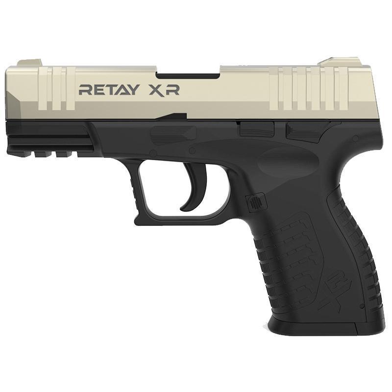 Сигнальний пістолет, стартовий Retay XR (9мм, 14 зарядів), сатин