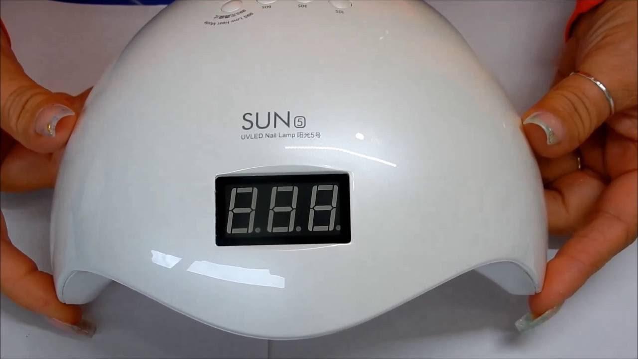 Лампа для маникюра UV LED SUN 5 Nail Lamp