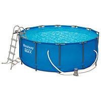 Intex 26718 каркасный бассейн 366х122 см, насос, лестница