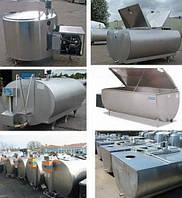 Охладитель молока закр типа Serap (Франция) 1500 л б/у