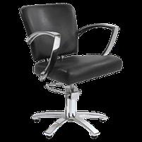 Парикмахерское кресло 6006 коричневое, фото 2