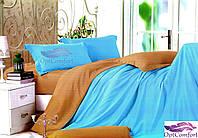 Двусторонний евро комплект постельного белья
