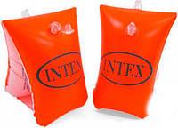 """Intex Нарукавник 58641 NP (36) """"Люкс"""" для детей с 3-х лет, размером 30-15см"""