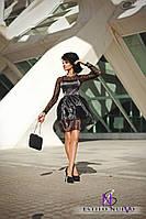 Платье с органзы 614 НС