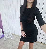 Женское замшевое платье, фото 1