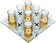 Алкогольная игра крестики - нолики №084 с кружками (30х30 см)