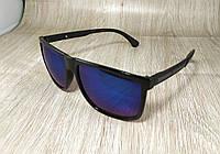 Солнцезащитные очки Ray Ban синие - зеркальные