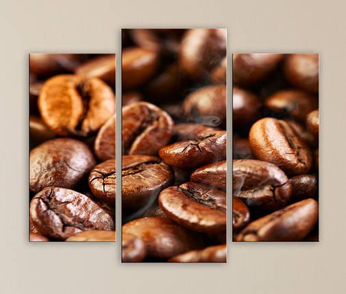 Модульная картина Ароматный кофе, фото 2