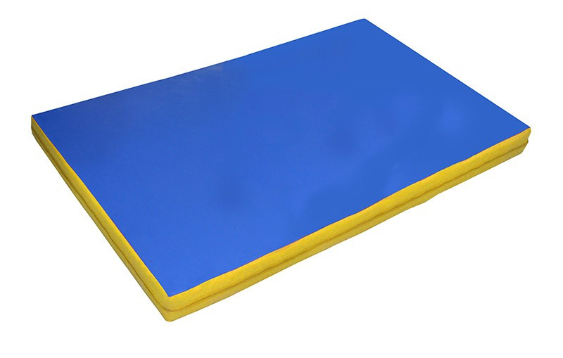 Мат гимнастический М-1акц (1х0,7х0,09 м.)