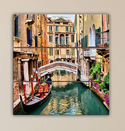 Модульная картина Улочки Венеции, фото 2