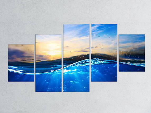 Модульная картина Волна, фото 2