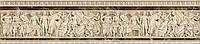 Керамическая плитка фриз барельеф  Emperador
