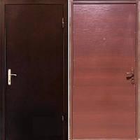 Бронированная дверь Sova Металл/ДСП (950*1900) R (на планке 1 замок) НЕ СТАНДАРТ