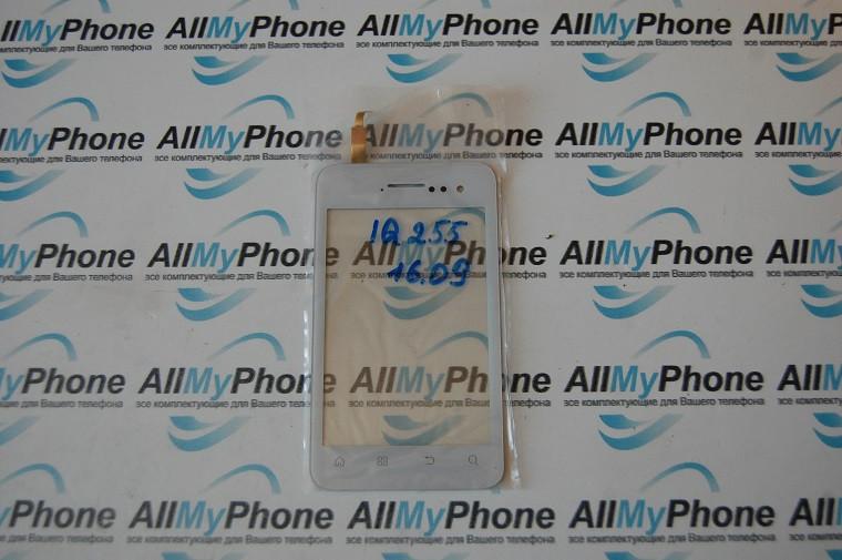 Сенсорный экран Fly IQ255 White