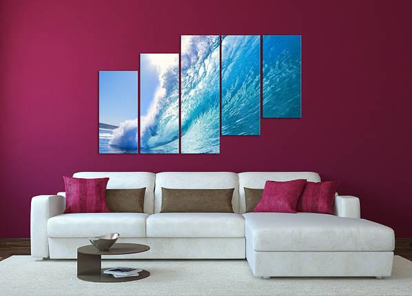 Модульная картина Океанская волна, фото 2