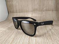 Солнцезащитные очки Ray Ban Wayfarer - серые зеркальные
