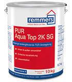 2-компонентный шелковисто-глянцевый полиуретановый запечатывающий водный лак PUR AQUA TOP 2K SG