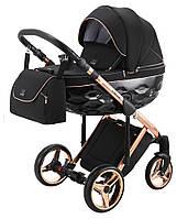 Детская коляска 2 в 1 Adamex Chantal Polar (Pink Gold) C8