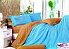 Двусторонний полуторный комплект постельного белья
