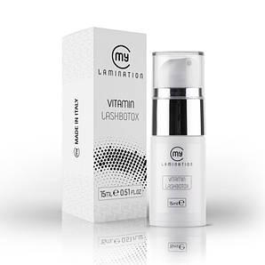 Vitamin Lash BTX 15 ml My Lamination препарат для вій і брів
