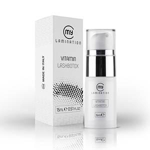 Vitamin Lash BTX 15 ml My Lamination препарат для ресниц и бровей