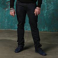 Мужские джинсы темно-синие Stefano Ricci. РЕМЕНЬ В ПОДАРОК.