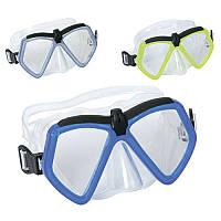 Маска для подводного плавания Bestway от 7 до 14 лет: 3 цвета (Bestway 22040)