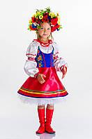 Детский украинский костюм для девочки Галинка-украинка, рост 104-128