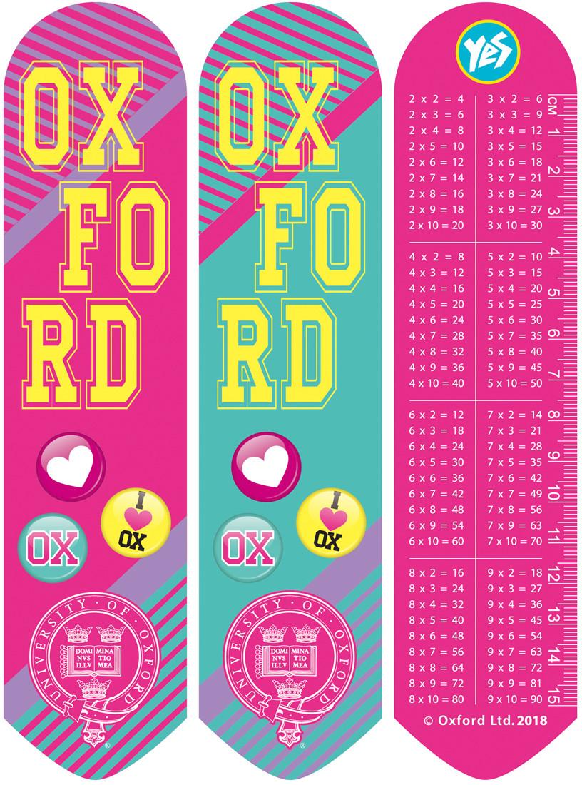 "Закладки 2D ""Oxford""(pink)"