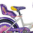Детский велосипед Azimut Girls 20 дюймов бело-фиолетовый, фото 4