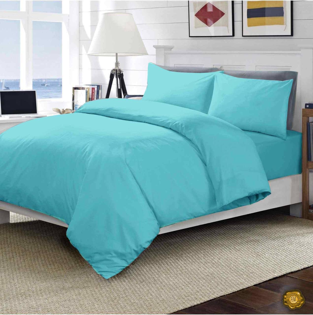 Комплект постельного белья Двуспальный, Микрофибра (2-х сп.ЕМІ0007)