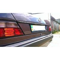 Накладка под номер на крышку багажника для Mercedes E-Class W124 с 1984-1996